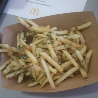 Gilroy Garlic Fries plus Create Your Taste at McDonald's!
