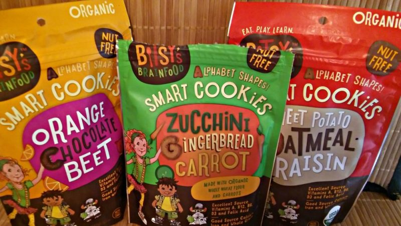 bitsy's brainfood snacks and cereals alphabet