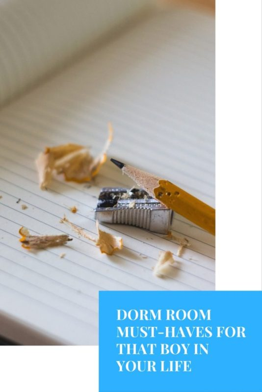 Dorm Room Must Haves For That Boy In Your Life