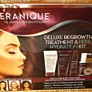 Keranique has the answer for hair regrowth