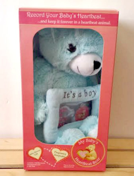 Gender Reveal Bear Boy