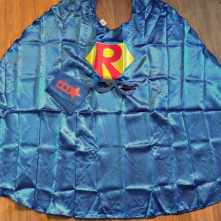 Your Child Can Join SuperflyKids With This SuperHero Cape