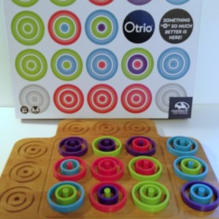 "Otrio – New Version Of Tic Tac Toe – Get Three In An ""O"""