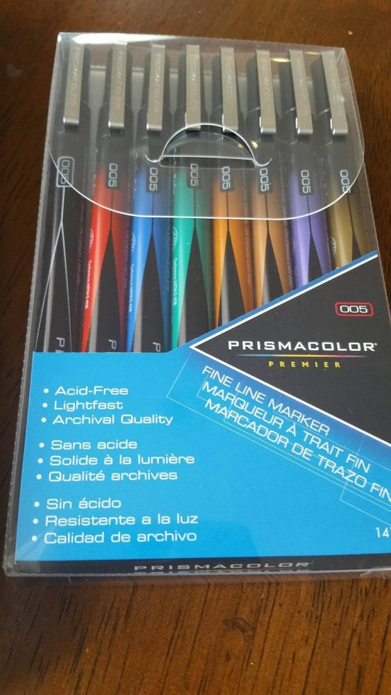 Art Therapy At It's Best With Prismacolor- Adult Coloring Tools