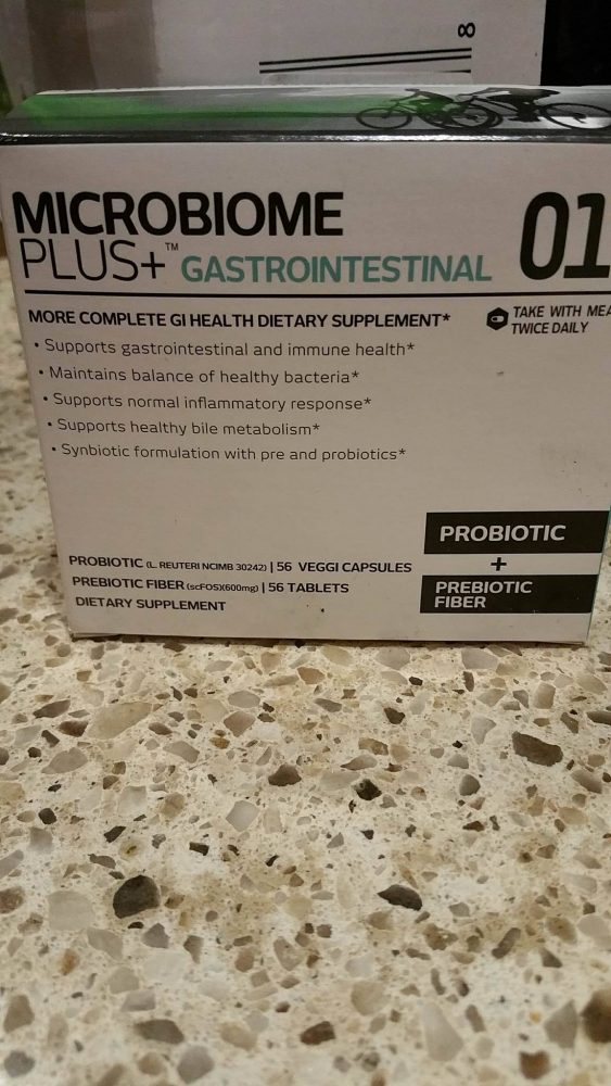 Microbiome Plus+ GI Probiotics - Relieves Stomach Issues