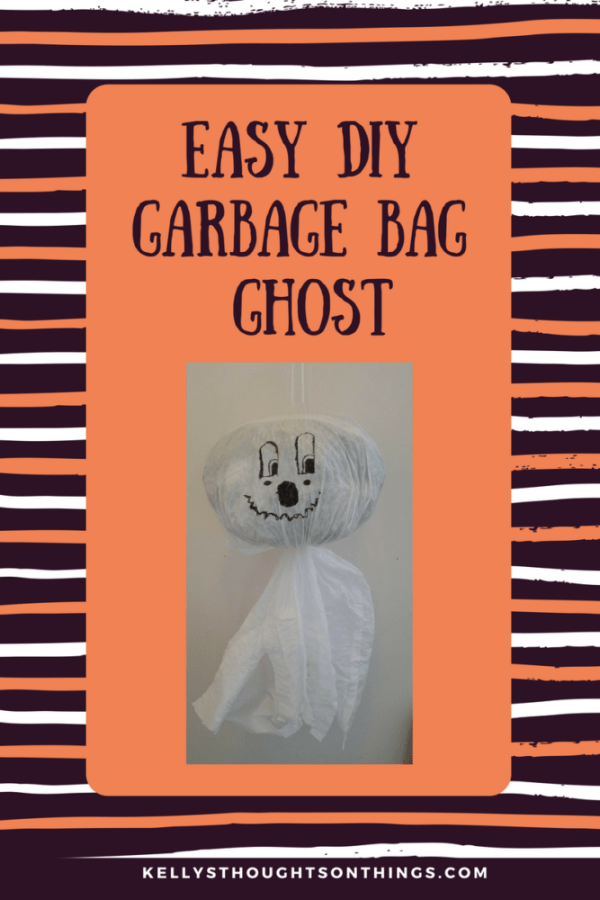 DIY GARBAGE BAG GHOST