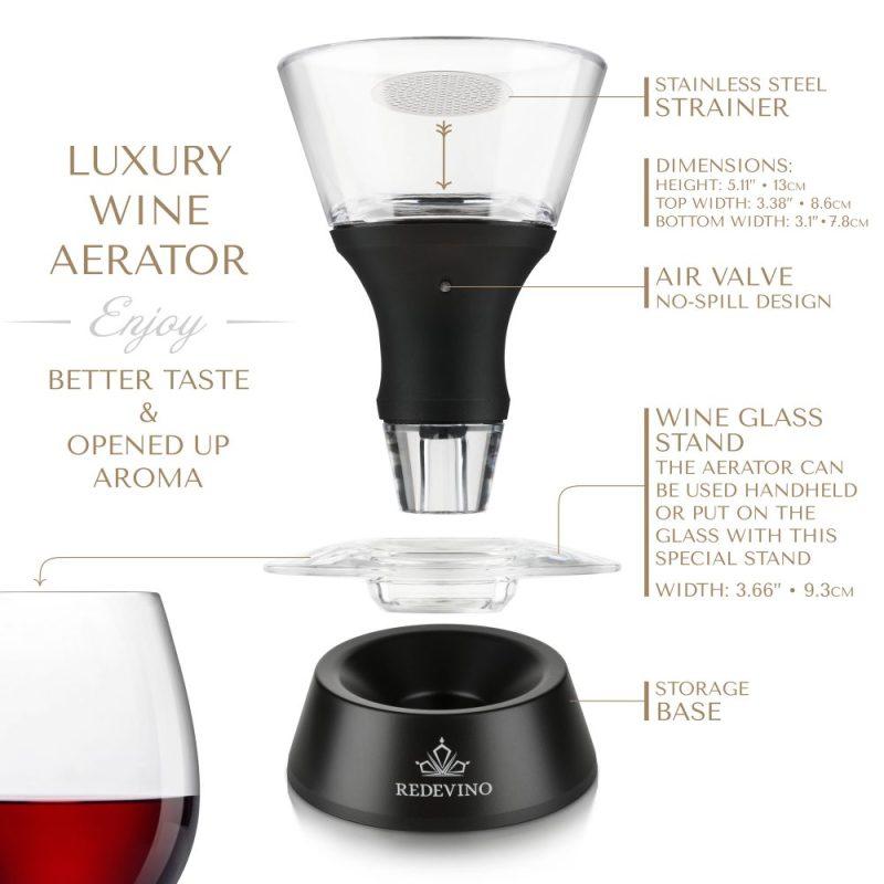 Redevino Wine Aerator The Revolution