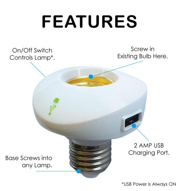 LampChamp features