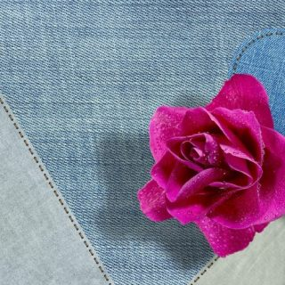 Fabric Flower Crafts for the Weekend