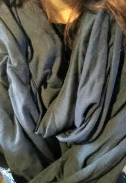 Chrysalis cardi infinity scarf