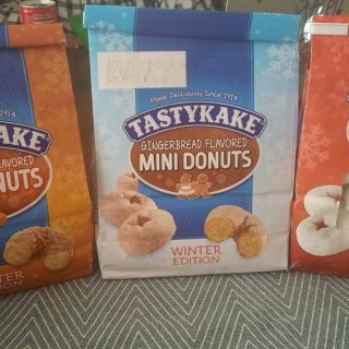 Tastykake's Winter Limited Edition- Home for the Holiday