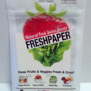 FreshPaper Natural Saver Sheets Keeping Fruits & Veggies Fresh Longer