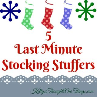 5 Last Minute Stocking Stuffers