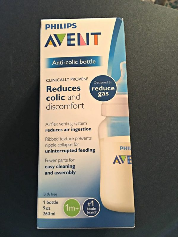 No More Fussing-The Philips Avent Anti-Colic Bottle to the RESCUE!