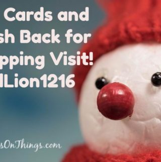 Buy Gift Cards and Earn Money Back #FOODLION1216 (Plus Giveaway)