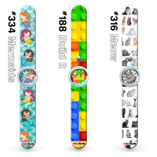 Watchitude™ The Fun Slap Bracelet Watch