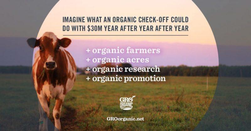 Organic check off program