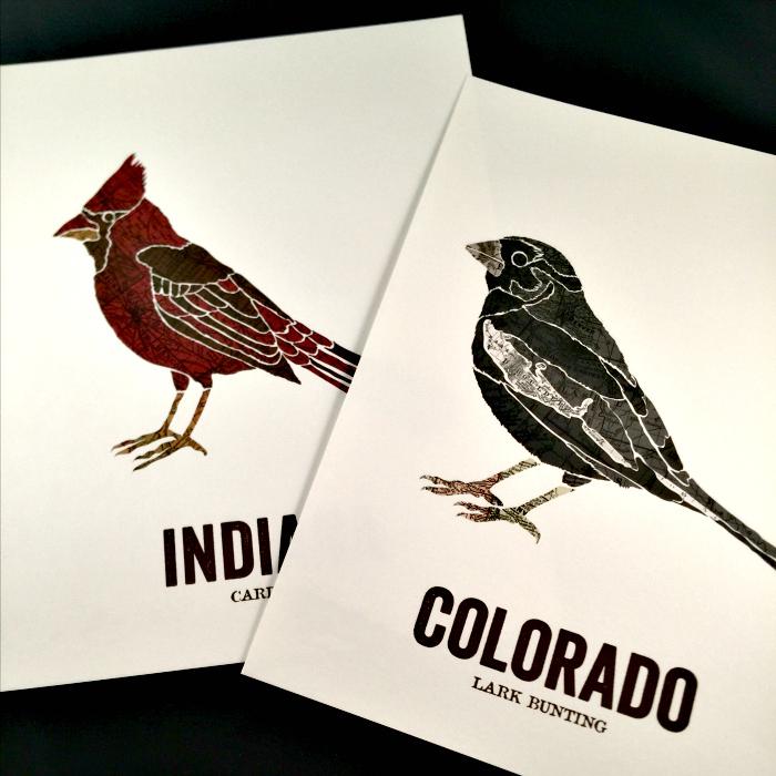 Love Birds - Spring Anniversary Gift
