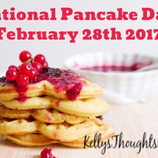 National Pancake Day February 28th