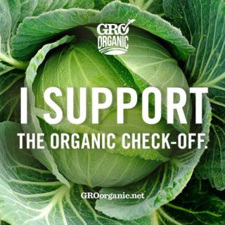 Please SUPPORT the Organic Check-off Program