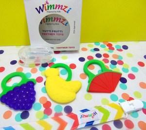 Wimmzi Tutti Frutti Teether Toys