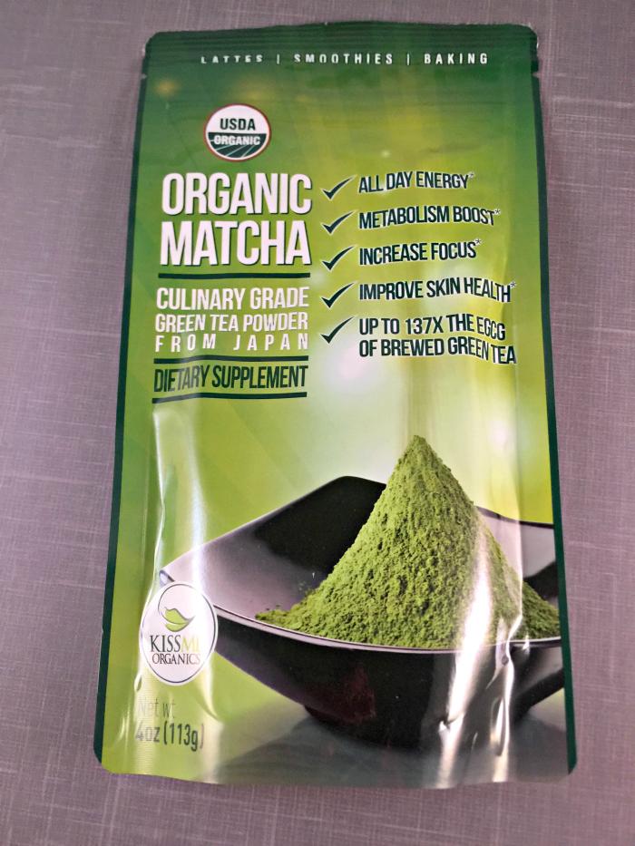 healthy smoothie - matcha powder