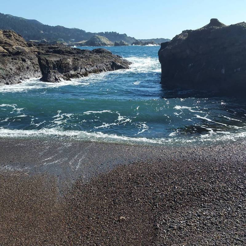 Point Lobos Park- beautiful beach