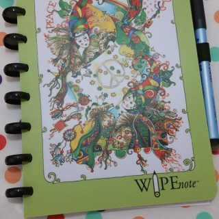 WipeNote Dry Erasable Notebooks For Adults!