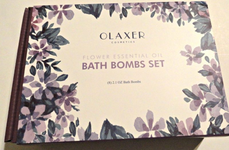 Relax with Olaxer bath bombs