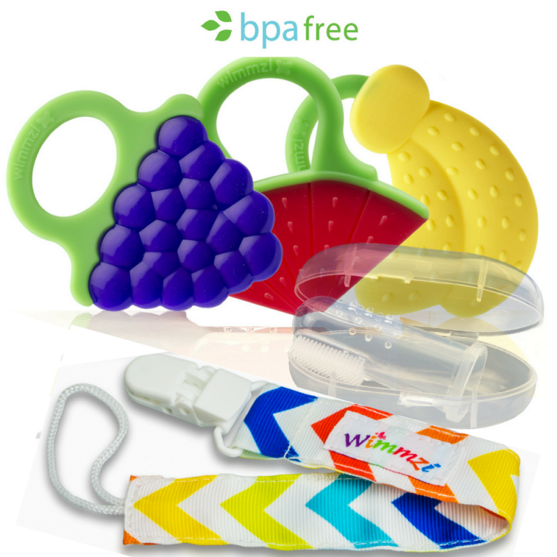 Wimmzi Teething toys are a mom's best friend during teething time!