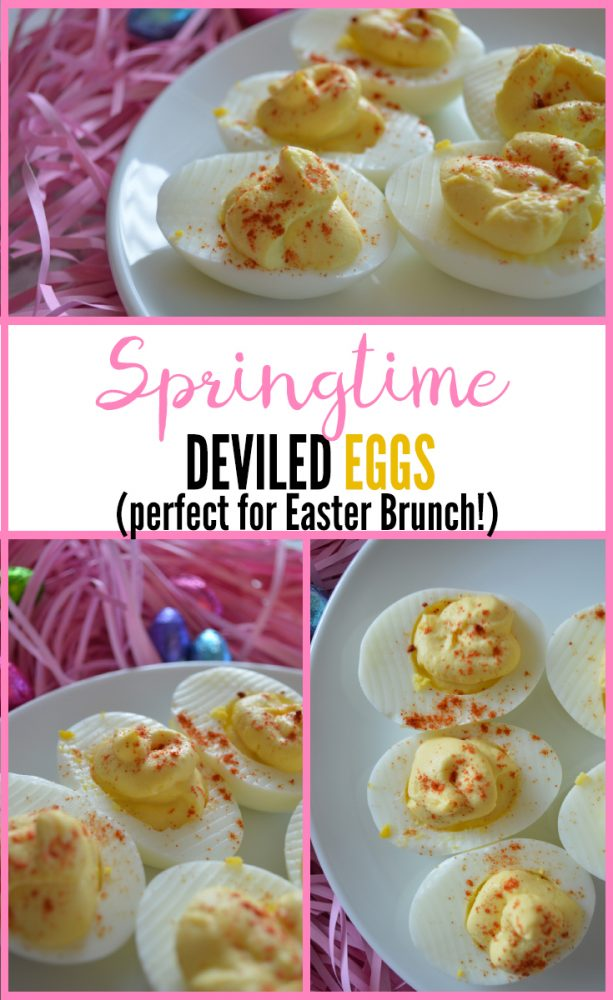 Springtime Deviled Eggs Recipe