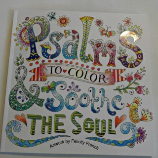 Soothe Your Soul With This Coloring Book of Psalms
