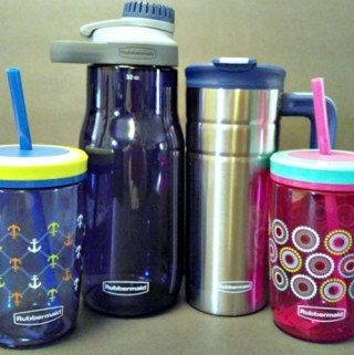 Rubbermaid®Leak-Proof Beveragewear Is Perfect For The Entire Family