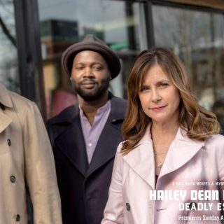 "Tune-in to Hallmark Movies & Mysteries ""Hailey Dean Mystery: Deadly Estate"""