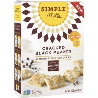 Snacking Made Simple with Simple Mills Snacks Almond Flour Crackers