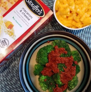 Broccoli & Chorizo Side Dish