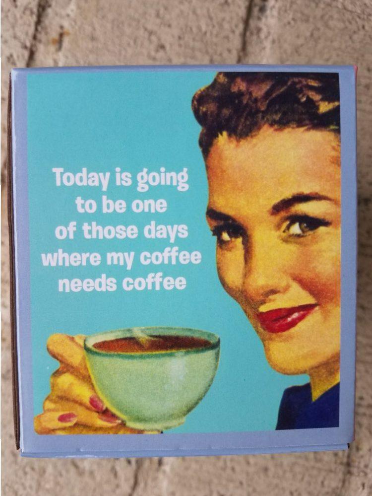 Needs Coffee Mug