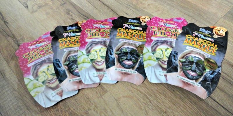 Cucumber Charcoal masks