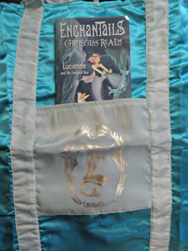 Enchanted Sleeping bag and book
