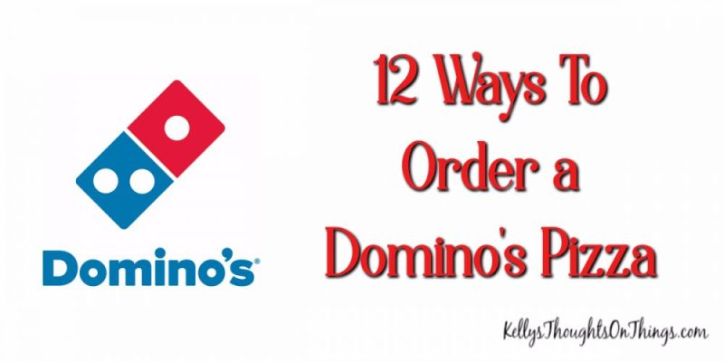 Want to know all the cool ways to order a Domino's Pizza