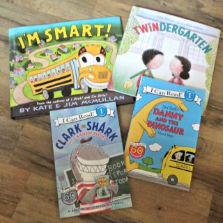 Brilliant Books for Little Ones Back Packs and Back to School