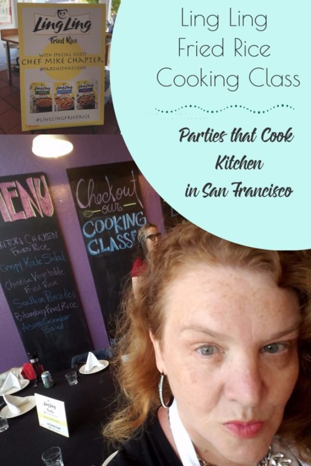 Ling Ling Fried Rice Cooking Class #LingLingFriedRice #IC AD