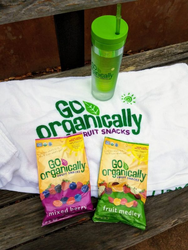 Get Up and GO with Go Organically Fruit Snacks!