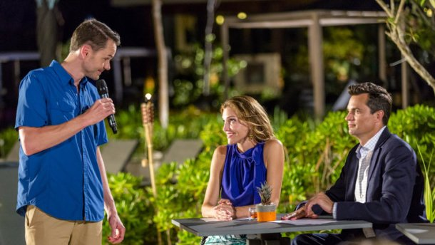 "Tune-in to Hallmark Channel's ""Sun, Sand & Romance"" Saturday, August 26th at 9pm/8c!"