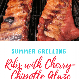 Summer Grilling – Cherry-Chipotle Glazed Spareribs