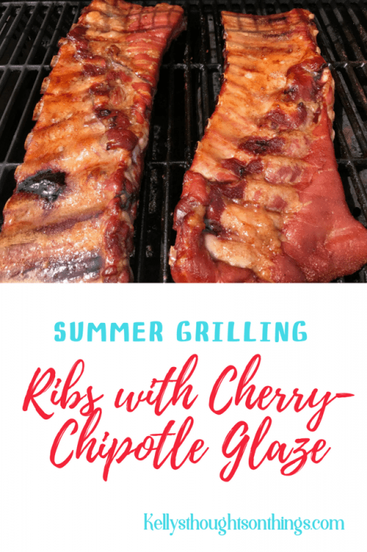 Summertime Grilling: Cherry-Chipotle Glazed St. Louis Style Pork Spareribs