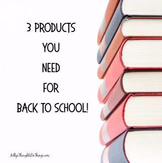 3 Back To School Gear Ideas- Earphones, Planner & Backpack