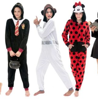 Pajama Onesies Make Halloween and Cosplay Fun