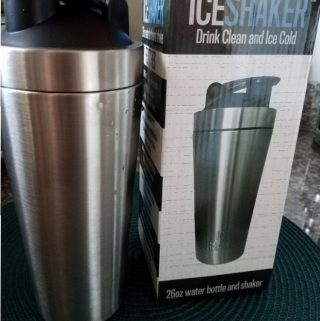 Ice Shaker Keeps your DRINK COLD for HOURS!