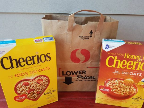 Cheerios™ and Honey Nut Cheerios™ go so fast in my house, so I make sure I have plenty, and when I see a STOCK UP sale- I'm on it!